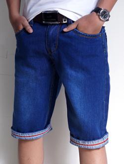 Quần Short Jeans Xanh Dương Đậm QS23