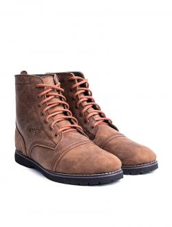 Boot Tăng Chiều Cao Bò Đậm G166