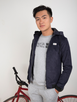 Áo Khoác Kaki Xanh Đen AK256