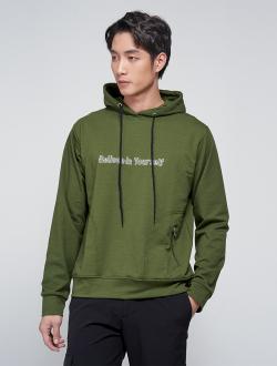 Áo Hoodie Believe AK012 Màu Rêu