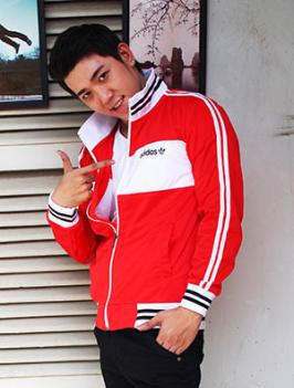 Áo Khoác adidas Đỏ Đô AK0001