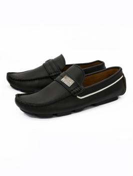 Giày Mọi Da Đen G26