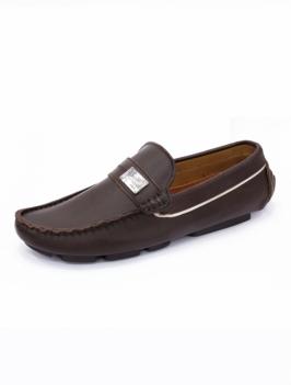 Giày Mọi Da Nâu G26