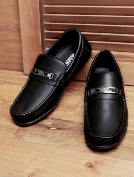 Giày Mọi Da Đen G89