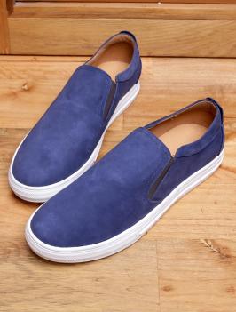 Giày Mọi Xanh Viền Trắng G96