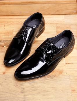 Giày Tây Da Đen G97