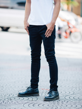 Quần Jean Skinny Đen QJ1407
