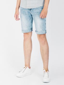 Quần Short Jean Màu Bạc QS102