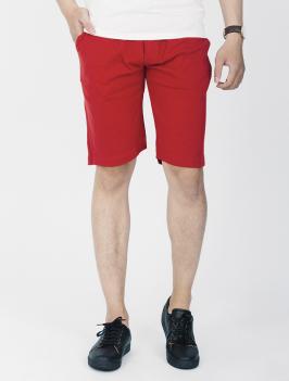 Quần Short Thun Đỏ QS105