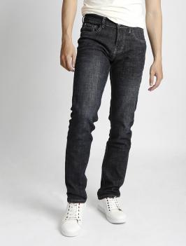Quần Jeans Ống Đứng Đen QJ1523