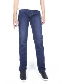 Quần Jeans Ống Đứng Xanh QJ1596
