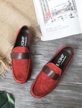Giày Mọi Đỏ Đô G170
