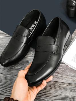 Giày Tăng Chiều Cao Đen G181