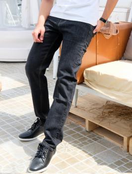 Quần Jeans Ống Đứng Đen QJ1594
