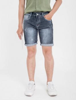 Quần Short Jean Xám Chuột Đậm QS158
