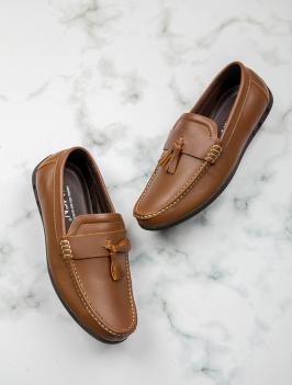 Giày Mọi Màu Bò G168