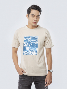Áo Thun In Save The Oceans Cafe AT832