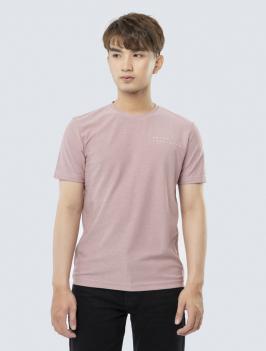 Áo Thun Regular Lưng In Hình AT843 Màu Hồng