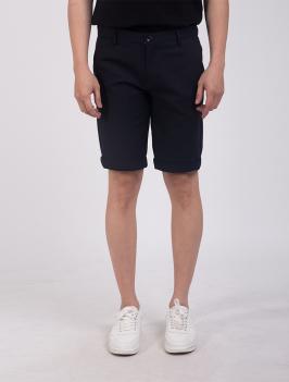 Quần Short Slimfit QS198 Màu Xanh Đen
