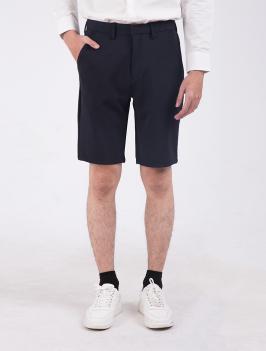 Quần Short Slimfit QS205 Màu Đen