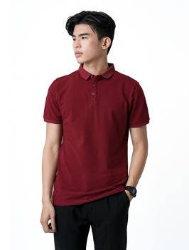 Áo Thun Polo Tay Bo AT855 Màu Đỏ