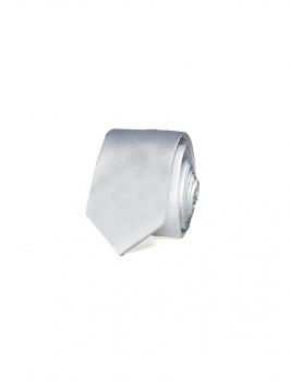 Cà Vạt Trơn Căn Bản CV014 Màu Trắng