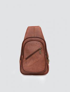 Túi đeo chéo dây kéo xéo Bò TX006