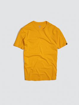 Áo Thun Gắn Nhãn Mặt Cười Màu Vàng AT049
