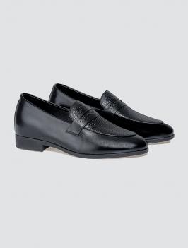 Giày Tăng Chiều Cao G004 Màu Đen