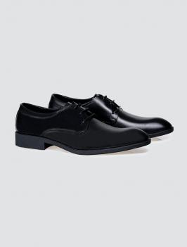 Giày Tây 4MEN G002 Màu Đen