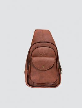 Túi đeo chéo có nắp bò TX007