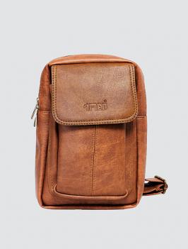 Túi đeo chéo có túi nhỏ màu bò TX009