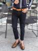 Quần Jeans Rách Đen QJ1614