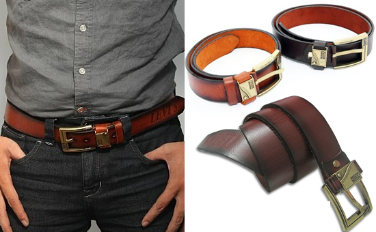Bí quyết chọn dây nịt phù hợp cho quần jean nam